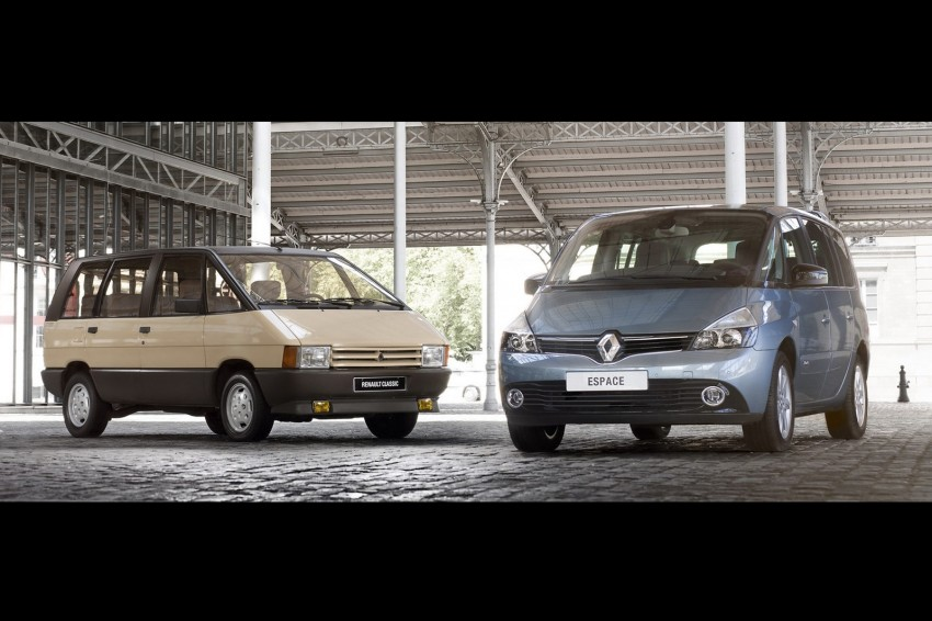 Renault Espace IV gets facelift, better economy Image #114349