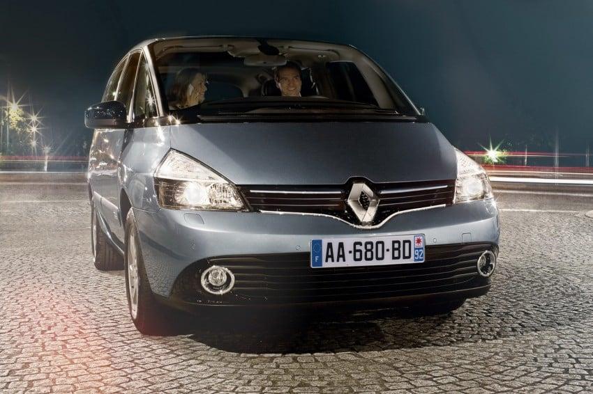 Renault Espace IV gets facelift, better economy Image #114350