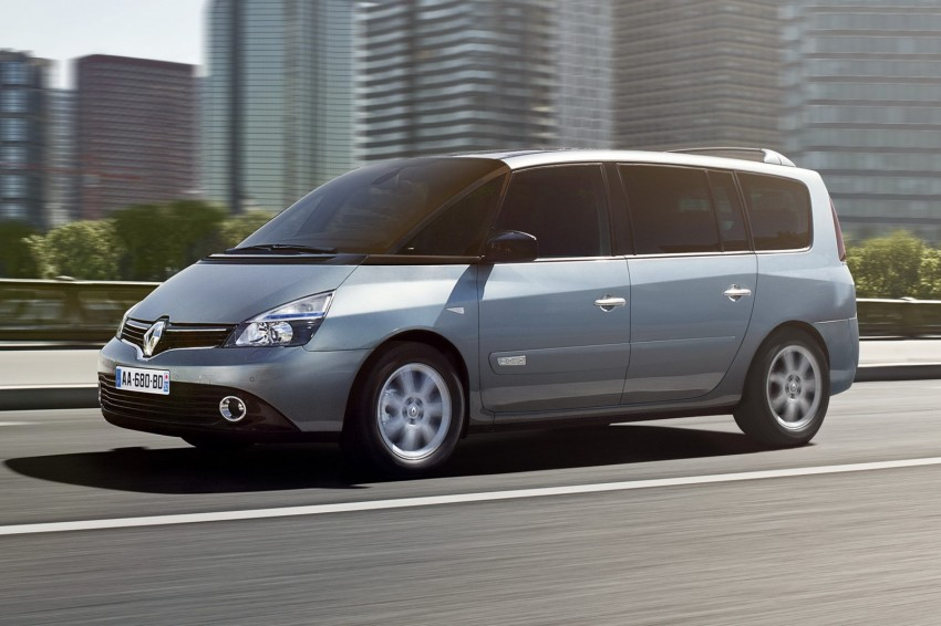 Renault Espace IV gets facelift, better economy Image #114351