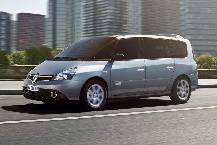 Renault Espace IV gets facelift, better economy Image #114351