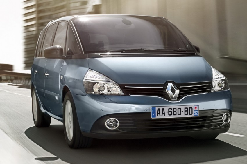 Renault Espace IV gets facelift, better economy Image #114352