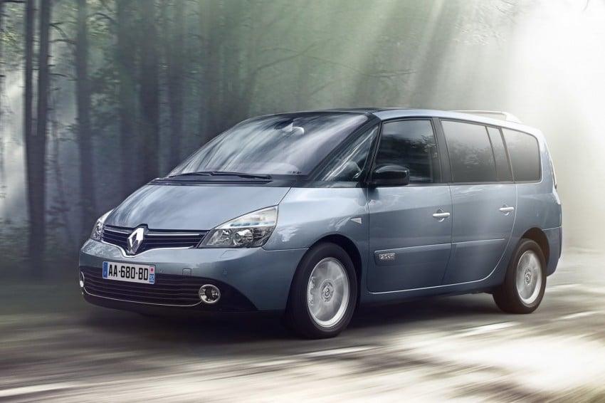 Renault Espace IV gets facelift, better economy Image #114353