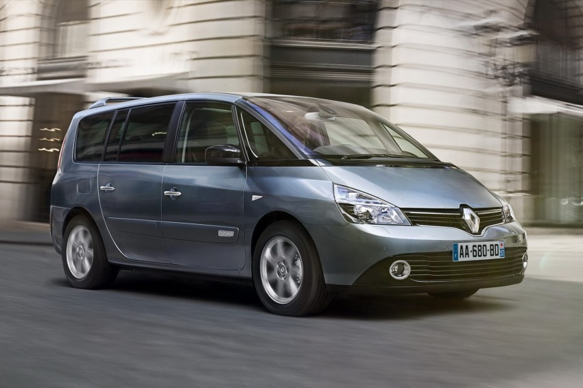 Renault Espace IV gets facelift, better economy Image #114354
