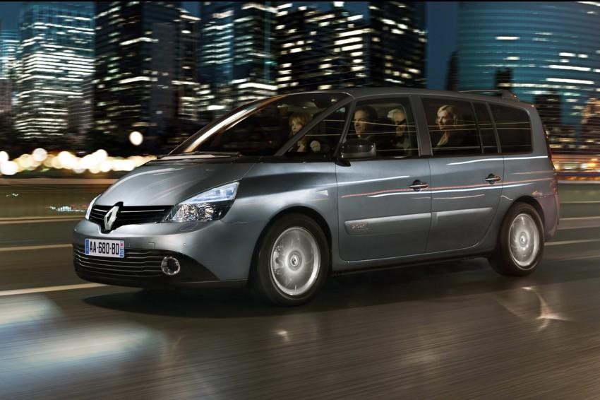 Renault Espace IV gets facelift, better economy Image #114355