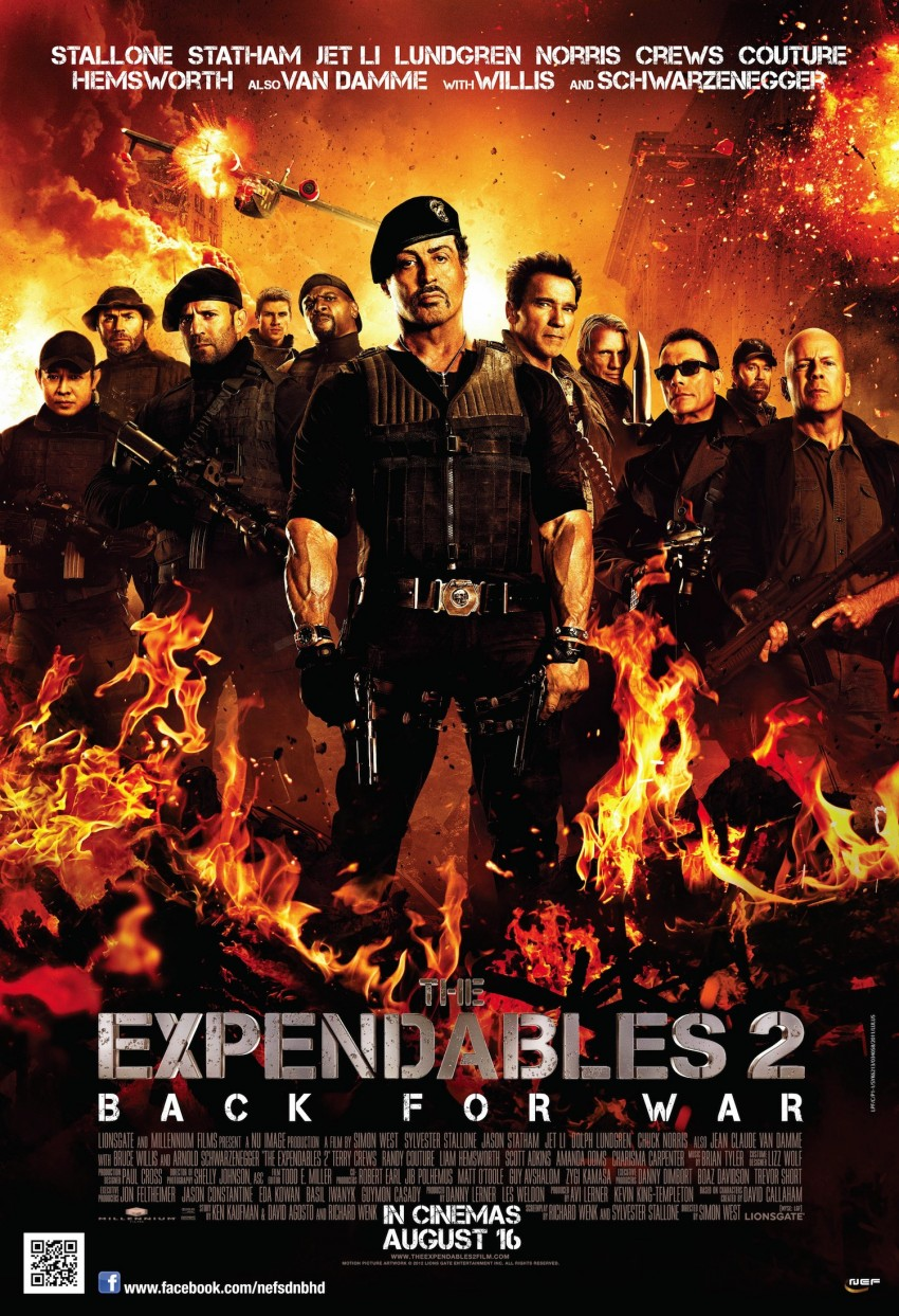 Win special passes to The Expendables 2 and cool merchandise with the Driven Movie Night contest! Image #119866
