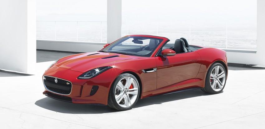 Jaguar F-Type debuts at Paris 2012: V6, V6 S and V8 S Image #133676