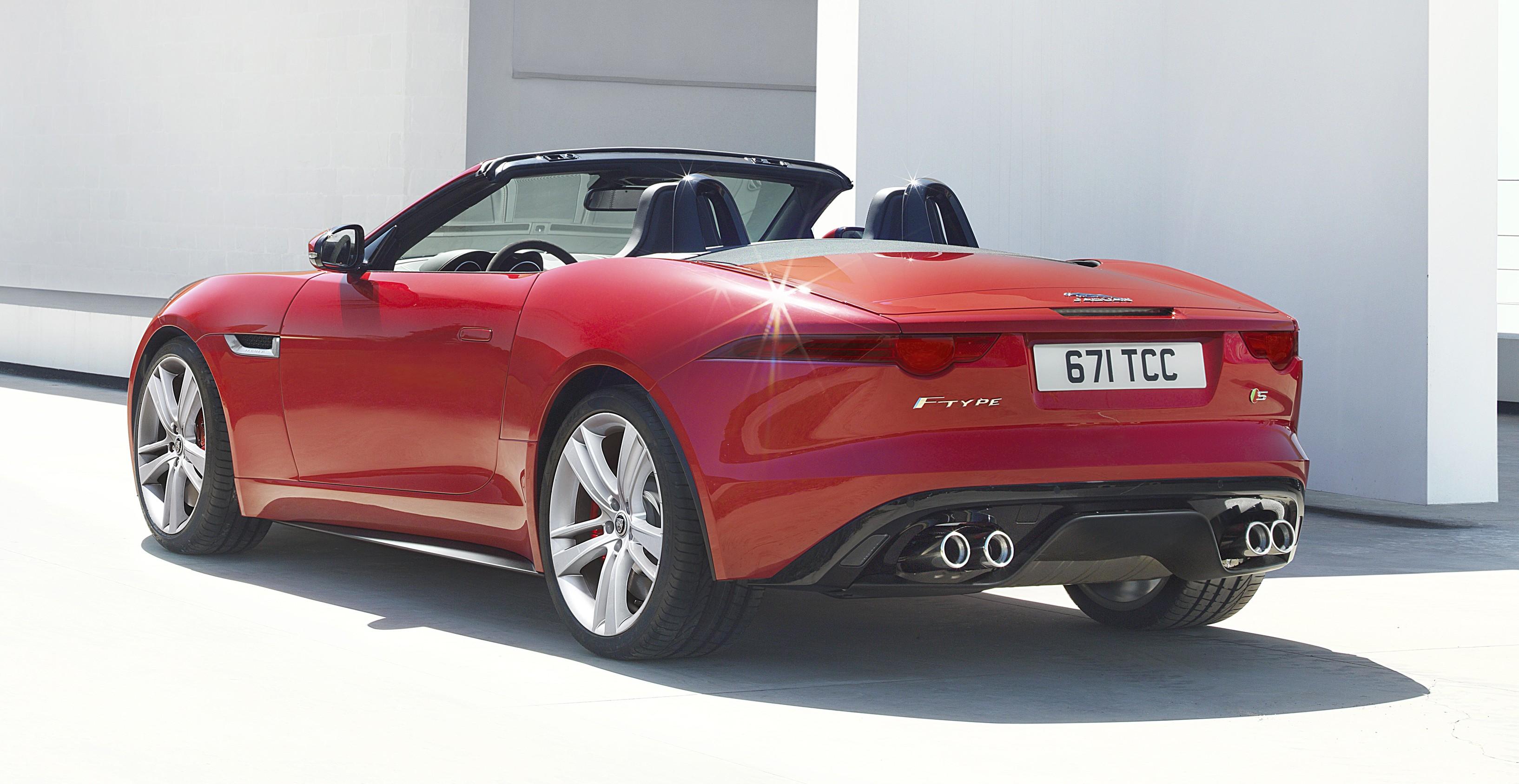 2018 Jaguar F Type >> Jaguar F-Type debuts at Paris 2012: V6, V6 S and V8 S Paul ...