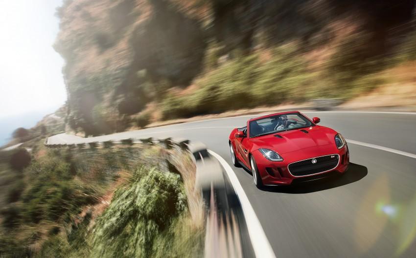 Jaguar F-Type debuts at Paris 2012: V6, V6 S and V8 S Image #133664