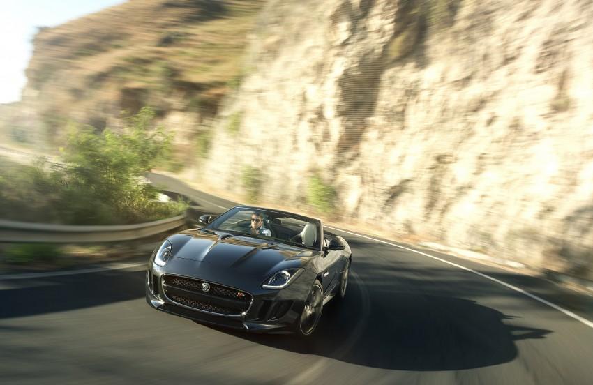 Jaguar F-Type debuts at Paris 2012: V6, V6 S and V8 S Image #133665