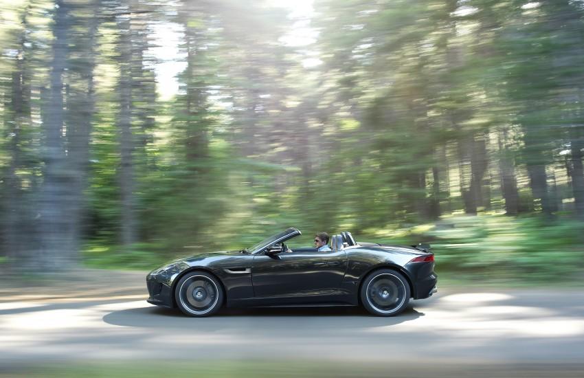 Jaguar F-Type debuts at Paris 2012: V6, V6 S and V8 S Image #133661