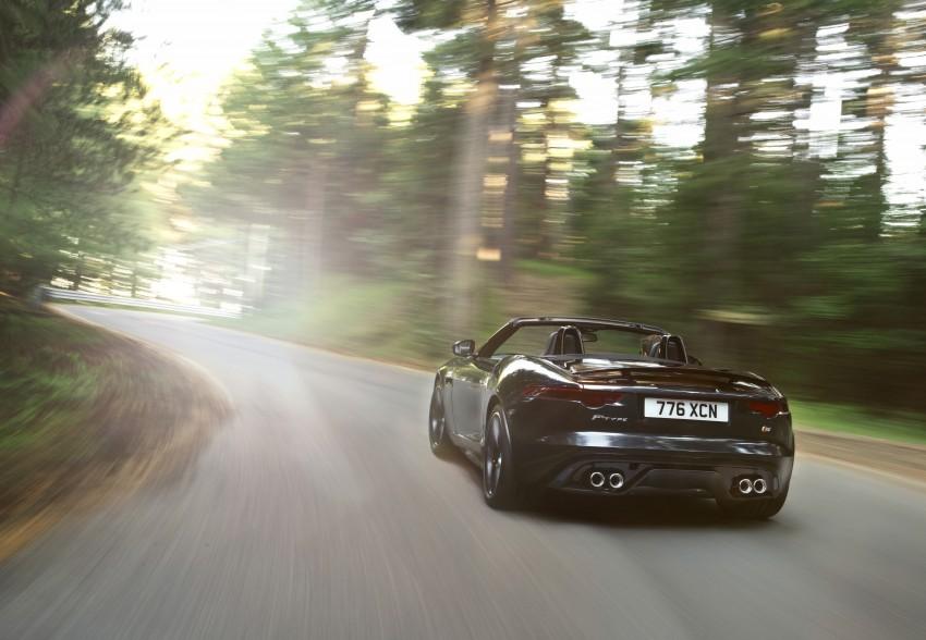 Jaguar F-Type debuts at Paris 2012: V6, V6 S and V8 S Image #133660