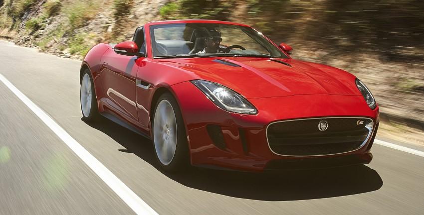 Jaguar F-Type debuts at Paris 2012: V6, V6 S and V8 S Image #133680