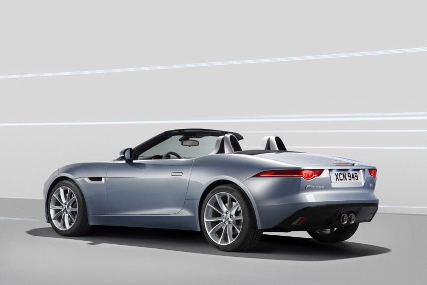 Jaguar F-Type debuts at Paris 2012: V6, V6 S and V8 S Image #133656