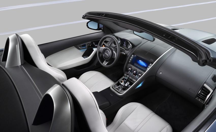 Jaguar F-Type debuts at Paris 2012: V6, V6 S and V8 S Image #133654