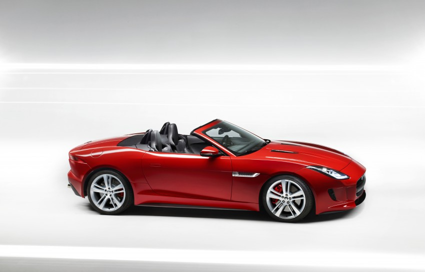 Jaguar F-Type debuts at Paris 2012: V6, V6 S and V8 S Image #133650