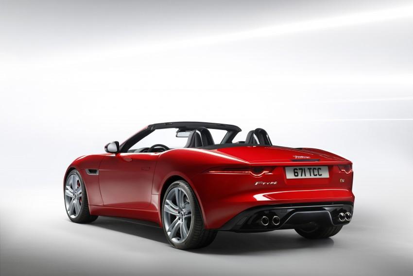 Jaguar F-Type debuts at Paris 2012: V6, V6 S and V8 S Image #133648