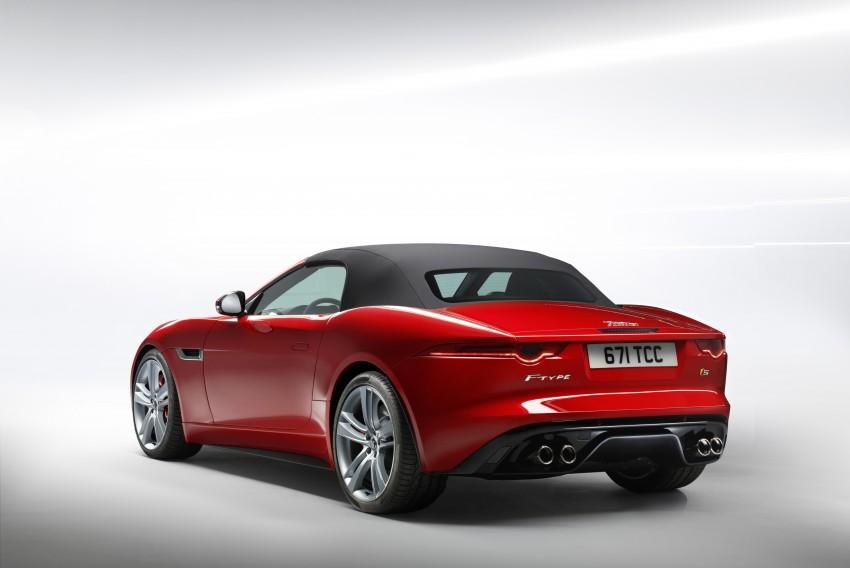 Jaguar F-Type debuts at Paris 2012: V6, V6 S and V8 S Image #133647