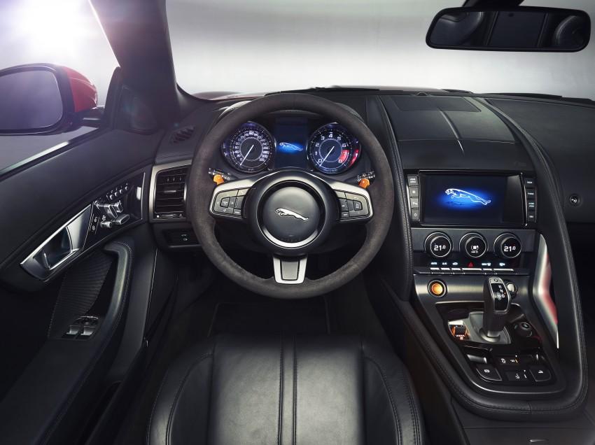 Jaguar F-Type debuts at Paris 2012: V6, V6 S and V8 S Image #133646