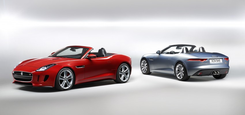 Jaguar F-Type debuts at Paris 2012: V6, V6 S and V8 S Image #133644