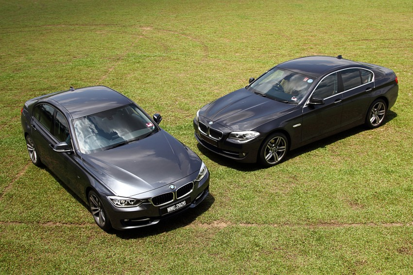 BMW F30 and F10: side by side visual comparison Image #110501