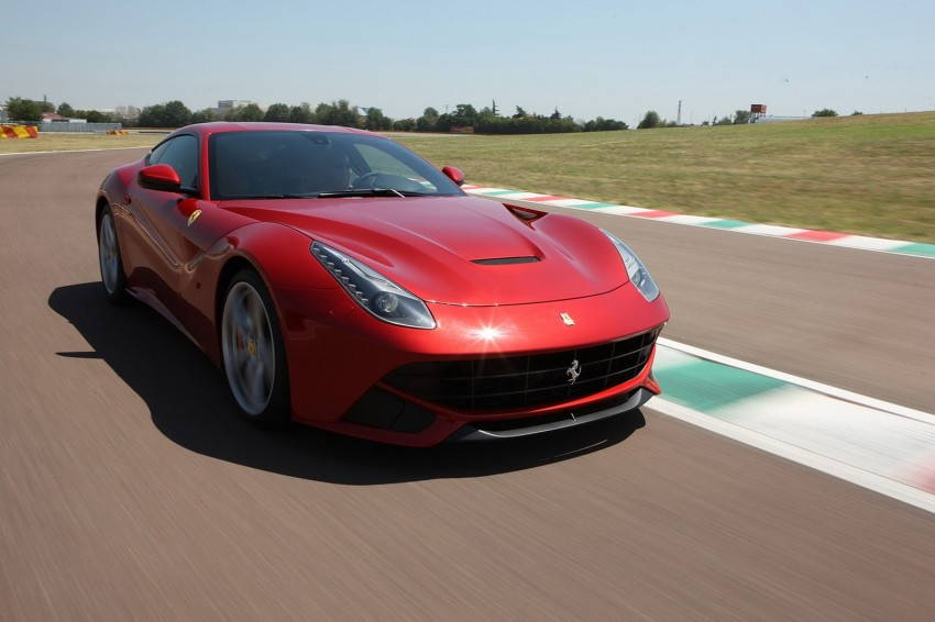 VIDEO and GALLERY: The Ferrari F12 Berlinetta Image #121998