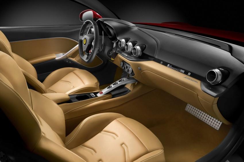VIDEO and GALLERY: The Ferrari F12 Berlinetta Image #122002