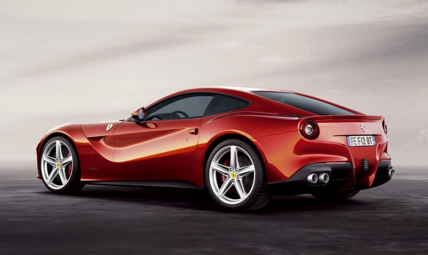 VIDEO and GALLERY: The Ferrari F12 Berlinetta Image #122004