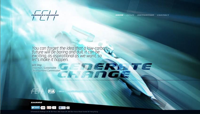 Formula E Championship: FIA's announces new race series featuring electric-powered Formula cars Image #130219