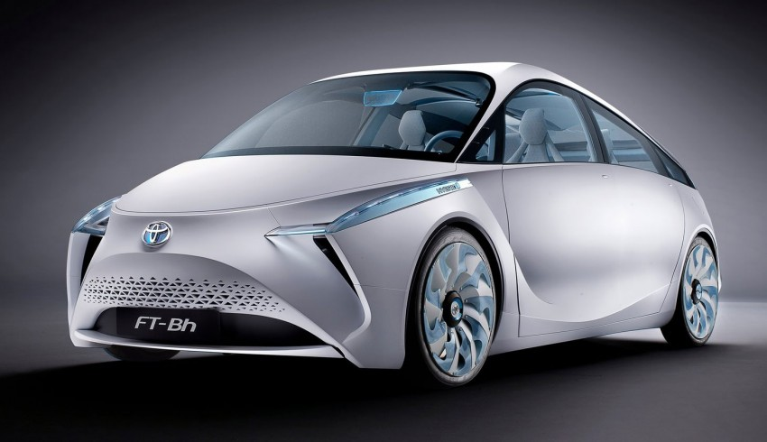 Toyota FT-Bh Concept – the hybrid car of tomorrow Image #91836