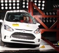Ford B-Max Pole crash test