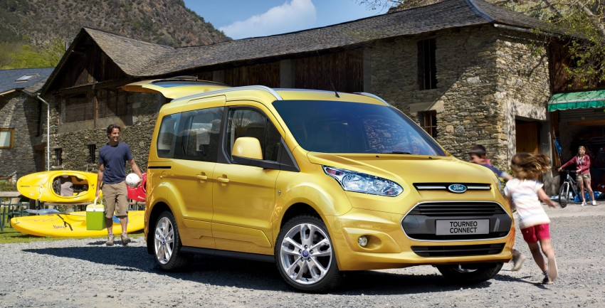 Ford Tourneo Connect unveiled in Amsterdam Image #129640