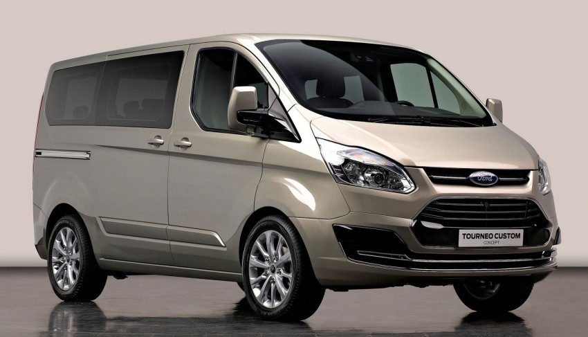 Geneva preview: Ford Tourneo – Kinetic Design on a van Image #89281