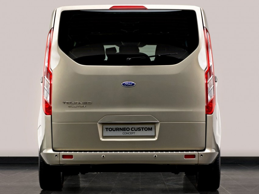 Geneva preview: Ford Tourneo – Kinetic Design on a van Image #89279
