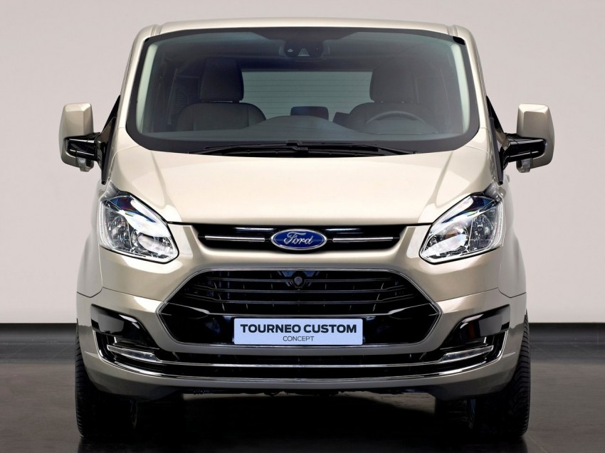 Geneva preview: Ford Tourneo – Kinetic Design on a van Image #89280