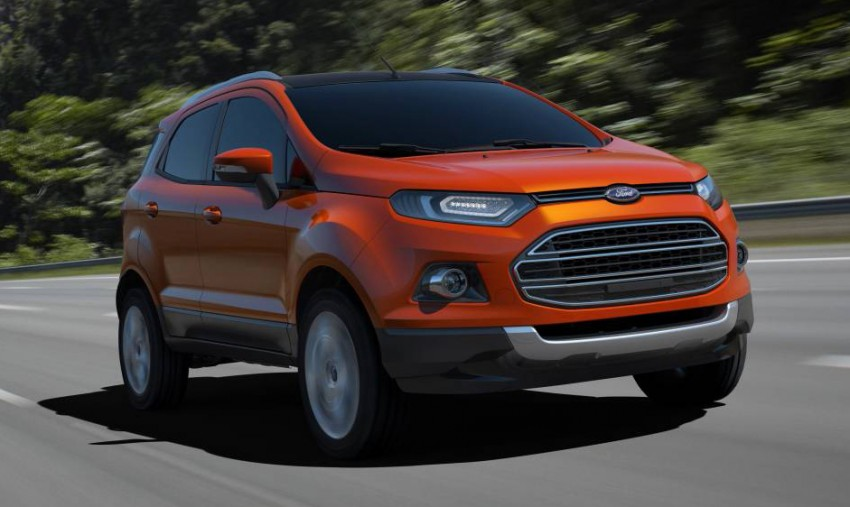 Ford EcoSport SUV debuts in Delhi Auto Expo – global offering to eventually enter around 100 markets Image #82106