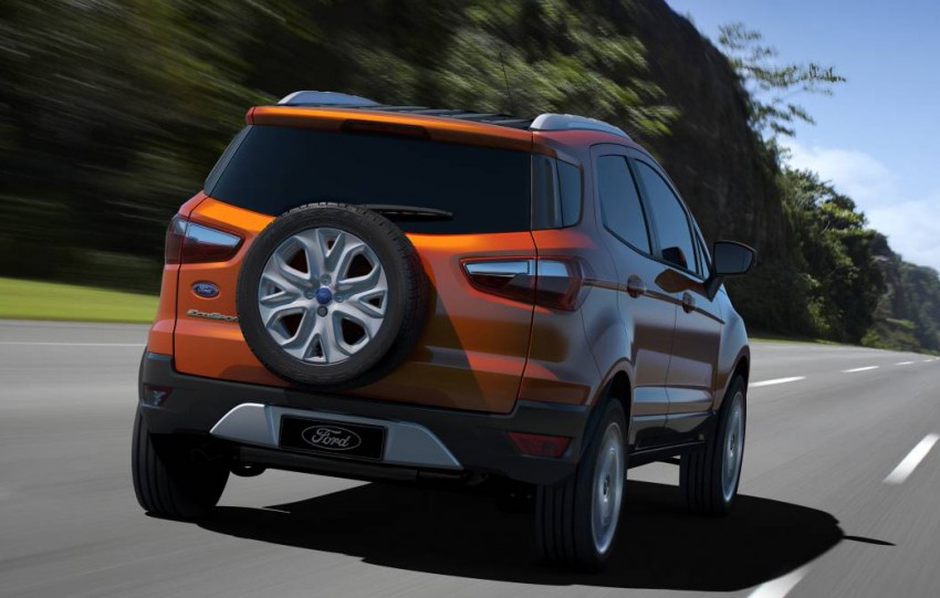 Ford EcoSport SUV debuts in Delhi Auto Expo – global offering to eventually enter around 100 markets Image #82105