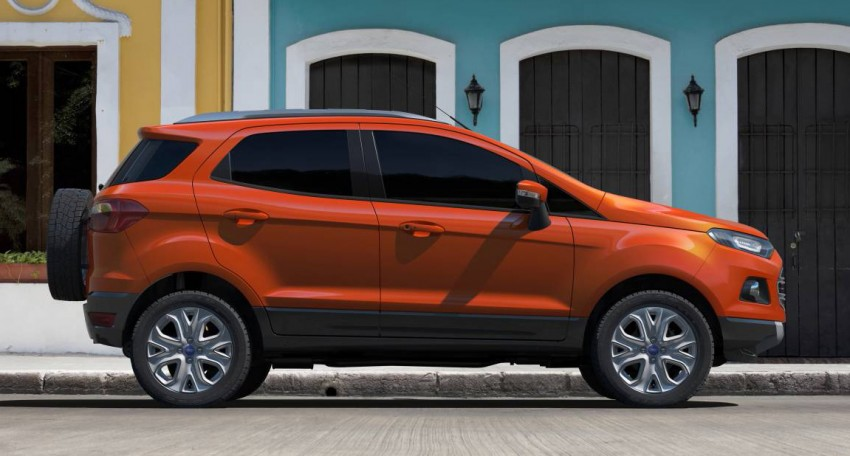 Ford EcoSport SUV debuts in Delhi Auto Expo – global offering to eventually enter around 100 markets Image #82110