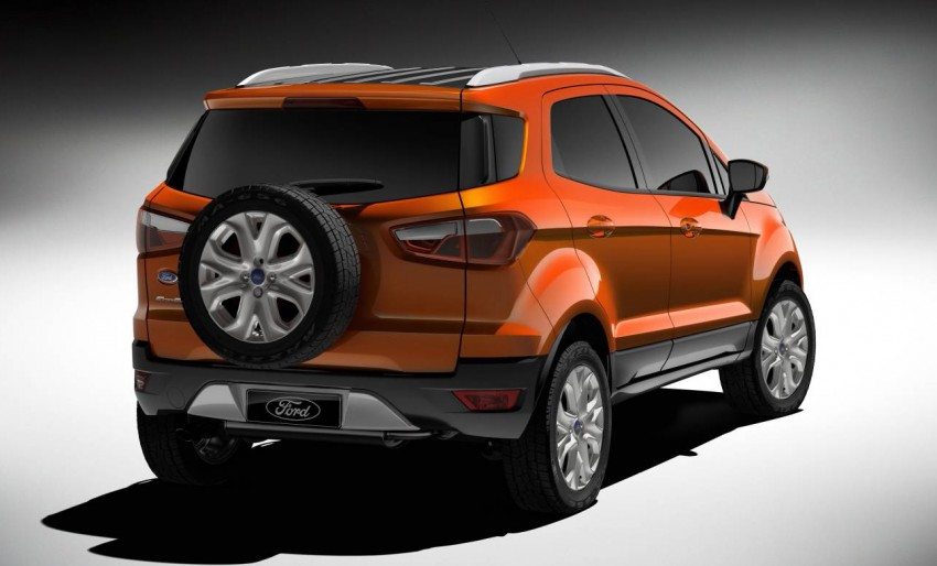 Ford EcoSport SUV debuts in Delhi Auto Expo – global offering to eventually enter around 100 markets Image #82111