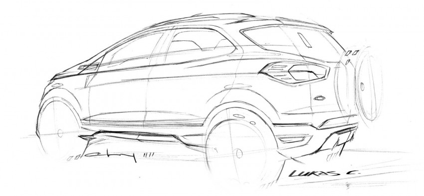 Ford EcoSport SUV debuts in Delhi Auto Expo – global offering to eventually enter around 100 markets Image #82131