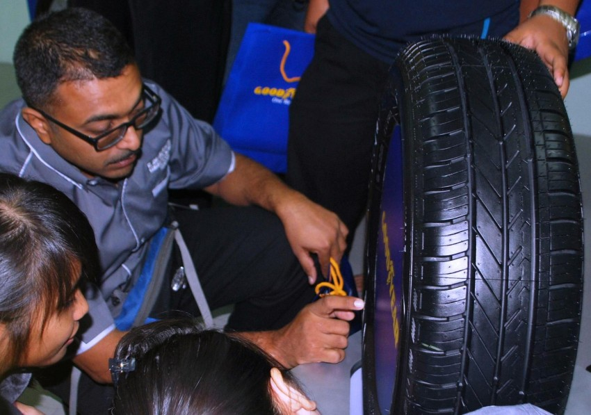 Goodyear donates tyres to St John Ambulance Image #123904