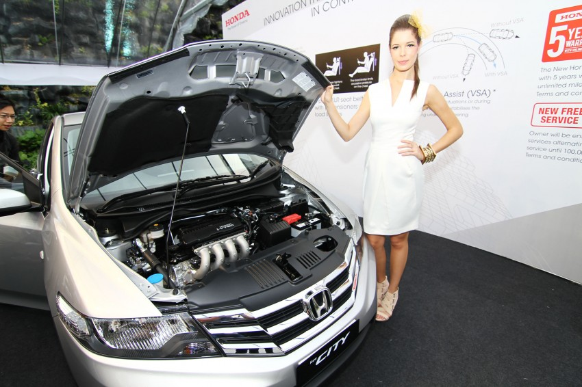 Honda City facelift launched, now with 5-year warranty Image #113648