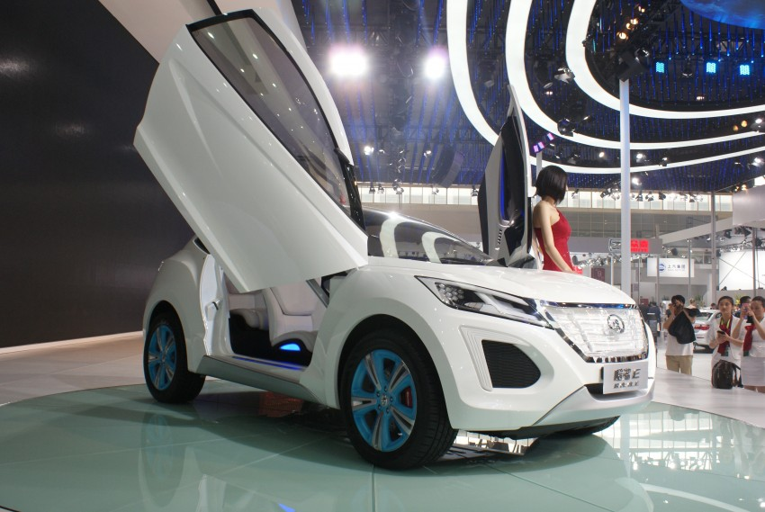 Great Wall Haval E SUV debuts, scissor doors and all Image #102921