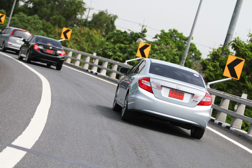 DRIVEN: 2012 Honda Civic FB (9th Gen) previewed in Thailand – not pretty, but handles brilliantly! Image #114528