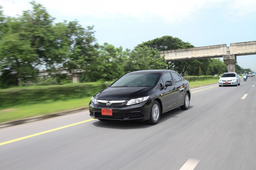 DRIVEN: 2012 Honda Civic FB (9th Gen) previewed in Thailand – not pretty, but handles brilliantly! Image #114529