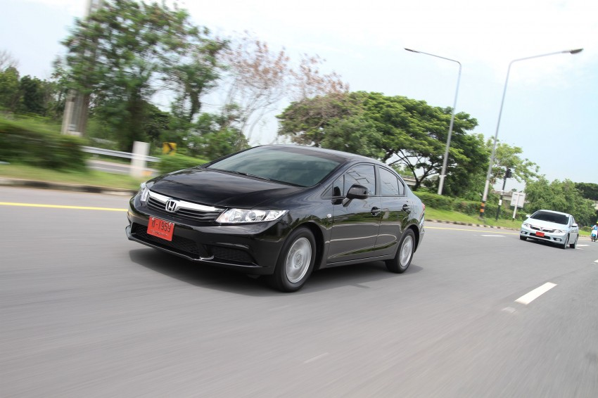 DRIVEN: 2012 Honda Civic FB (9th Gen) previewed in Thailand – not pretty, but handles brilliantly! Image #114530