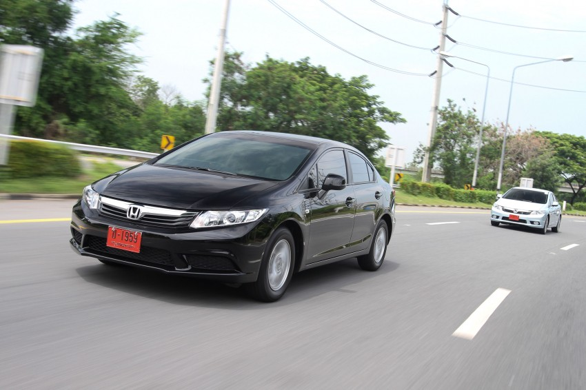 DRIVEN: 2012 Honda Civic FB (9th Gen) previewed in Thailand – not pretty, but handles brilliantly! Image #114531