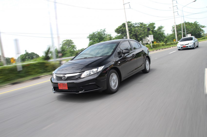 DRIVEN: 2012 Honda Civic FB (9th Gen) previewed in Thailand – not pretty, but handles brilliantly! Image #114532