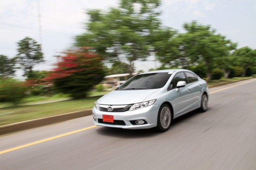 DRIVEN: 2012 Honda Civic FB (9th Gen) previewed in Thailand – not pretty, but handles brilliantly! Image #114533