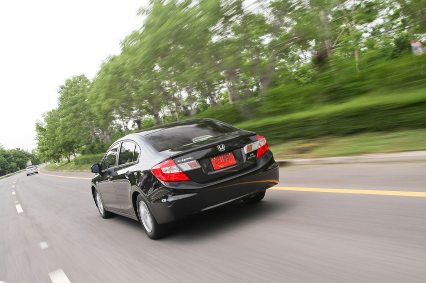 DRIVEN: 2012 Honda Civic FB (9th Gen) previewed in Thailand – not pretty, but handles brilliantly! Image #114536
