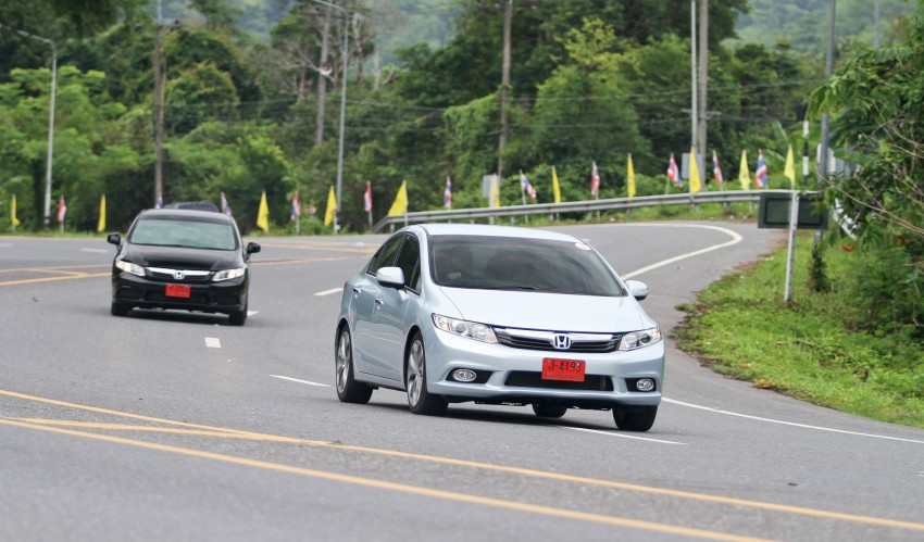 DRIVEN: 2012 Honda Civic FB (9th Gen) previewed in Thailand – not pretty, but handles brilliantly! Image #114539